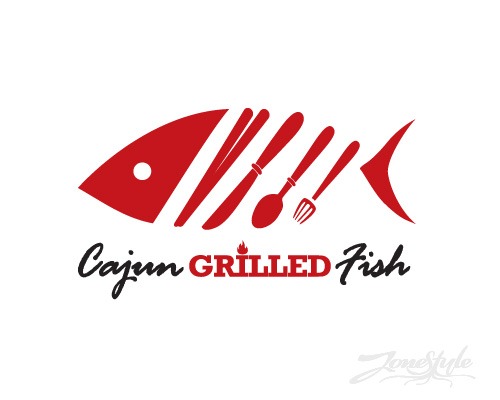 Logo Cajun Grilled Fish