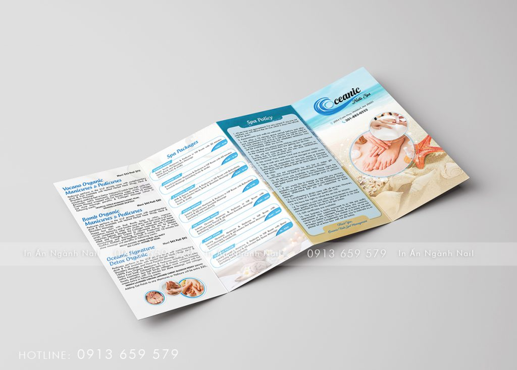 Brochure – Oceanic Nails & Spa